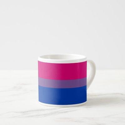 Bisexual Pride Flag Espresso Cup
