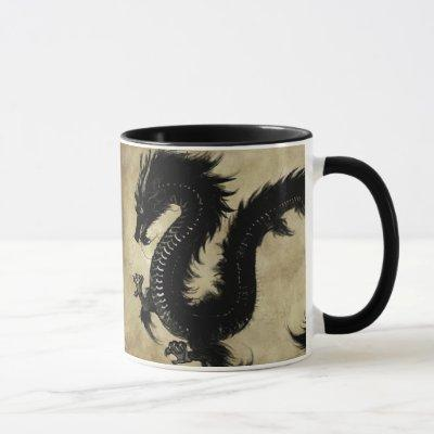 Black Dragon Mug