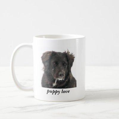 Black Lab Pet Dog Photo Puppy Love Coffee Mug