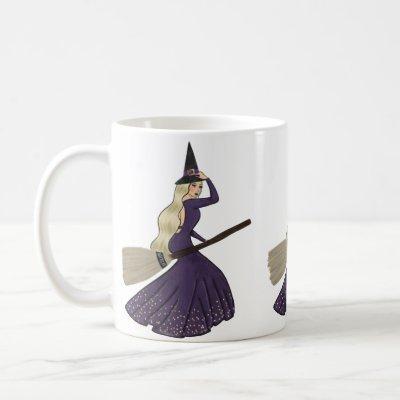 Blond Chic Witch Mug