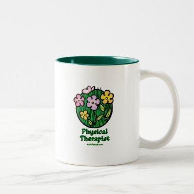 Blooms 1 PT Two-Tone Coffee Mug