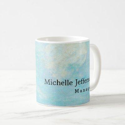 Blue Clouds by Gauguin Stylish Classical Your Name Coffee Mug