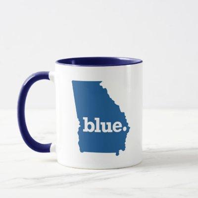 Blue State Georgia Mug