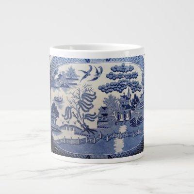 Blue Willow Large Mug