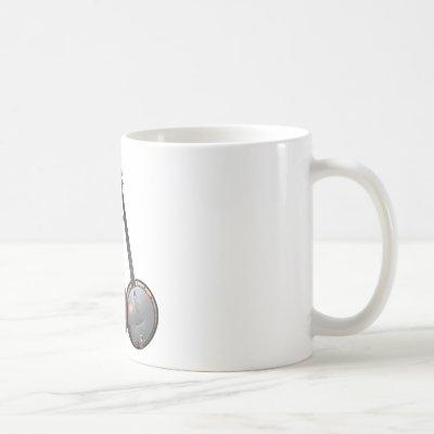 Bluegrass Band Cartoon Coffee Mug