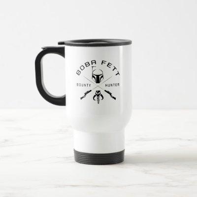 Boba Fett Black Badge Travel Mug