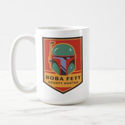Boba Fett Bounty Hunter Badge Coffee Mug