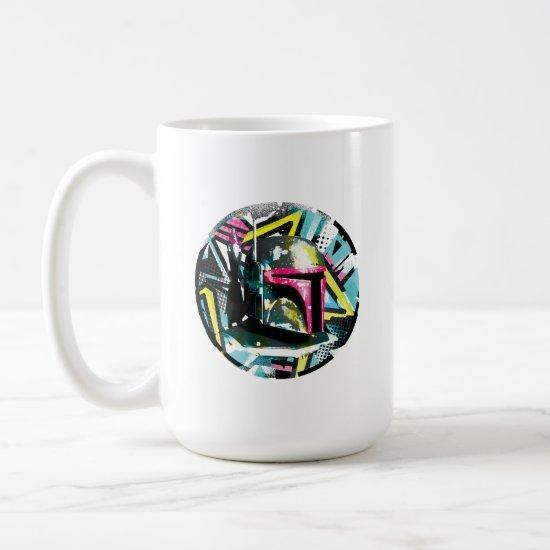 Boba Fett Colorful Pop Graphic Coffee Mug