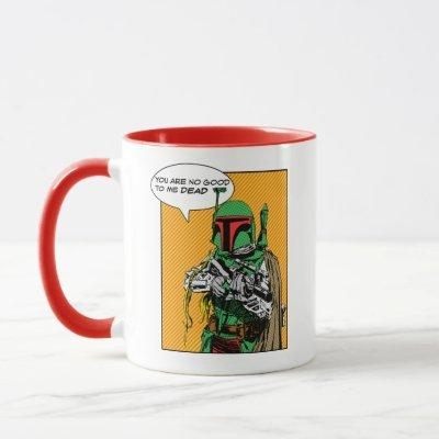 Boba Fett Comic Mug