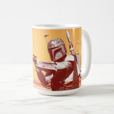 Boba Fett Desert Graphic Coffee Mug