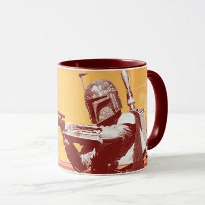 Boba Fett Desert Graphic Mug