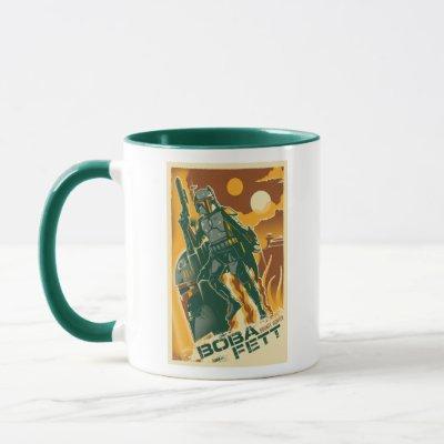 Boba Fett Poster Graphic Mug