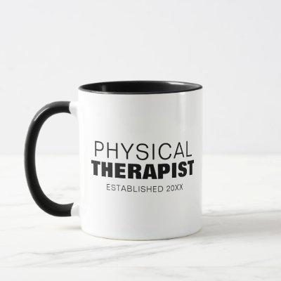 BOLD PHYSICAL THERAPIST MUG