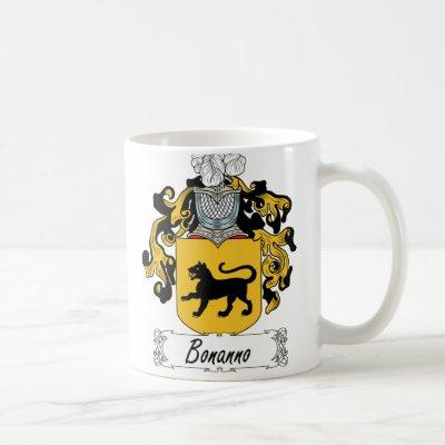 Bonanno Family Crest Coffee Mug
