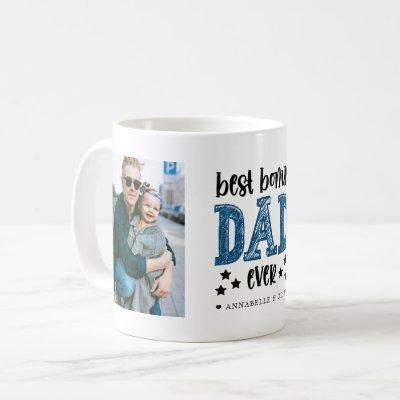 """Bonus Dad"" Step Dad Photo  Coffee Mug"