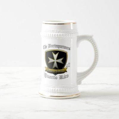 Borinqueneers Beer Stein