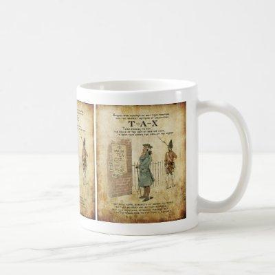 Boston tea Party Independence Day Coffee Mug