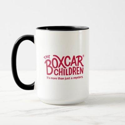 Boxcar Children Official Logo with Tagline Mug