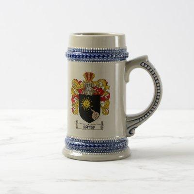 Brady Coat of Arms Stein / Brady Family Crest