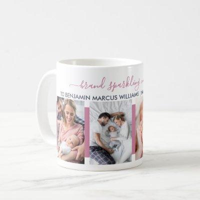 Brand Sparkling New Nana 4 Photo Personalized Coffee Mug
