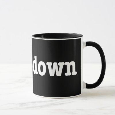 breakdown HTML Code Mug