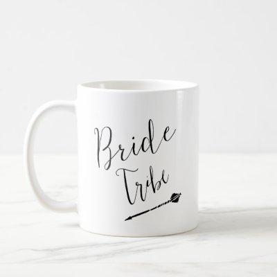 Bride Tribe with Custom Name Coffee Mug