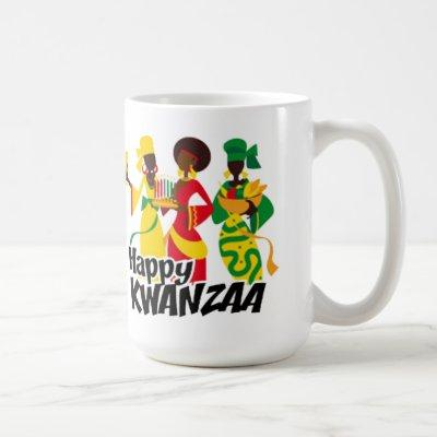 Bringing Celebration Kwanzaa Mug
