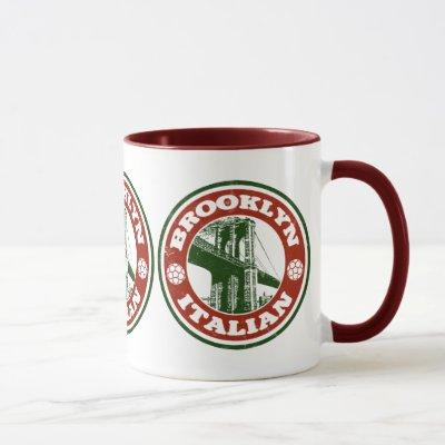 Brooklyn New York Italians Mug