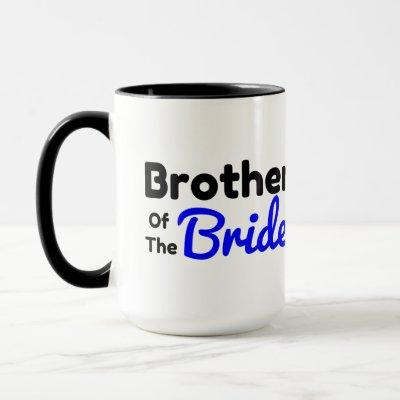 Brother of the bride mug