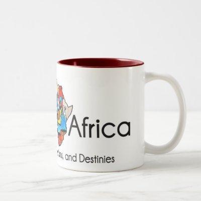 Brown Africa Two-Tone Coffee Mug