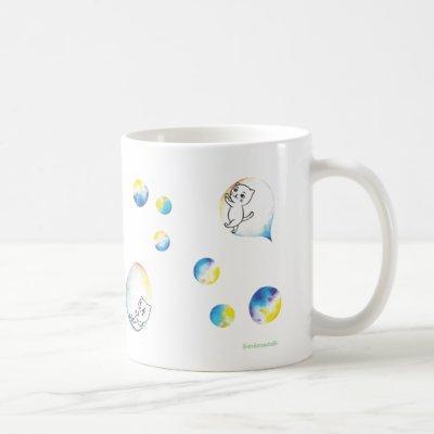 Bubble Cat Coffee Mug
