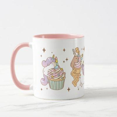 Bubu the Guinea pig, Unicorn Party Mug