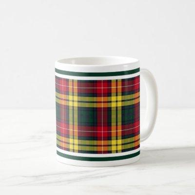 Buchanan Clan Tartan Coffee Mug