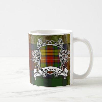 Buchanan Tartan Shield Coffee Mug