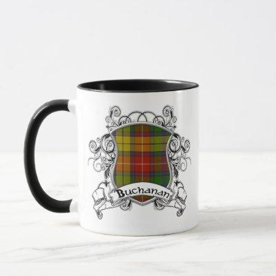 Buchanan Tartan Shield Mug