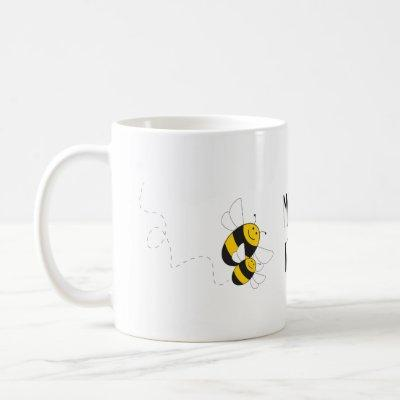 Bumblebee mommy to bee mug for pregnant friend