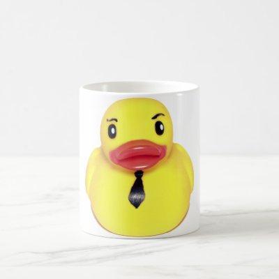 Business Duck Coffee Mug