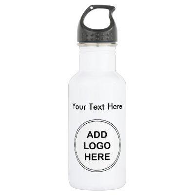 Business Logo Stainless Steel Water Bottle