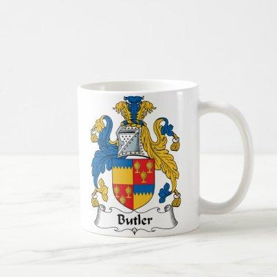 Butler Family Crest Coffee Mug