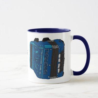 Button Accordion Mug