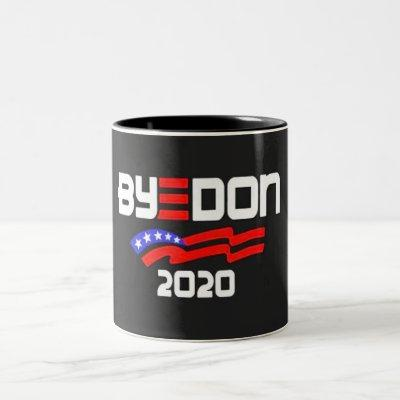 ByeDon 2020 Two-Tone Coffee Mug