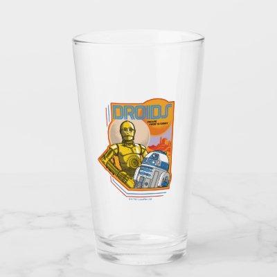 "C-3PO & R2-D2 ""Droids: Escape From Tatooine"" Badge Glass"