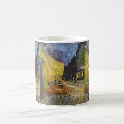 Cafe Terrace at Night - Vincent Van Gogh Coffee Mug