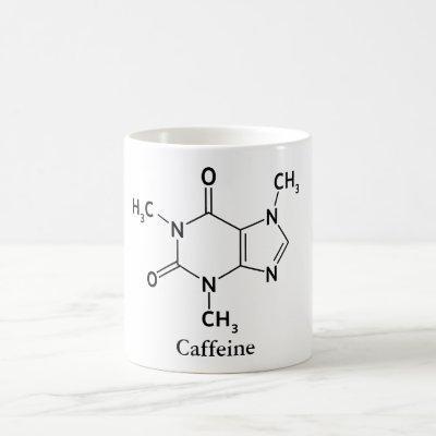 Caffeine Molecule Chemistry Coffee Lovers Coffee Mug