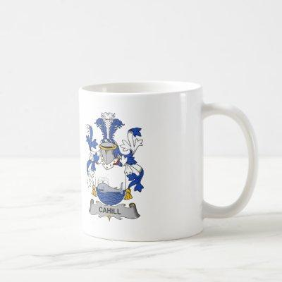 Cahill Family Crest Coffee Mug