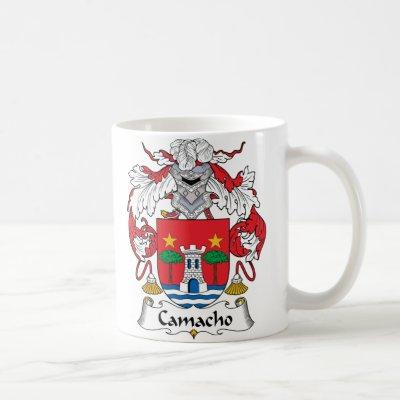 Camacho Family Crest Coffee Mug