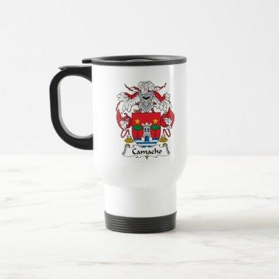 Camacho Family Crest Travel Mug