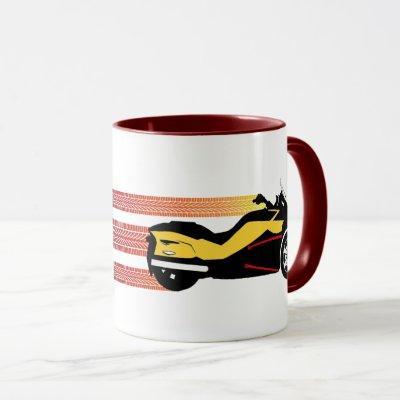 """Can Am Spyder """"Tread"""" Mug, Cup, or Stein"""