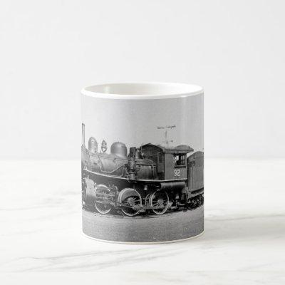 Canadian National Locomotive Engine 92 Port Dover Coffee Mug