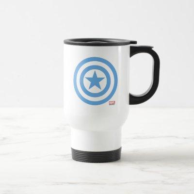 Captain America Super Soldier Logo Travel Mug